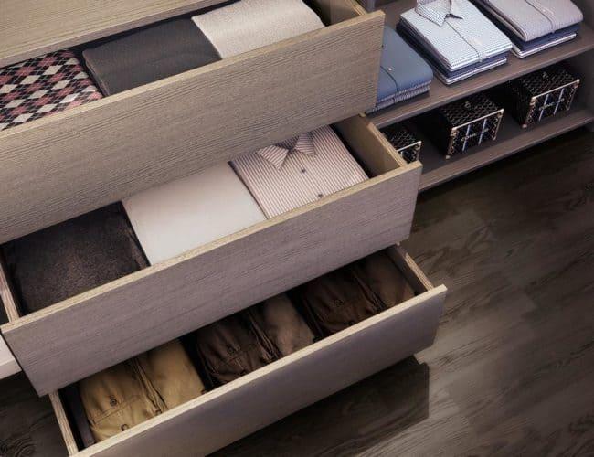 Central Condos - Closet Detail - Interior Render