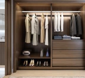 Central Condos - Closet - Interior Render