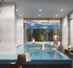 Central Condos - Inside Pool - Interior Render