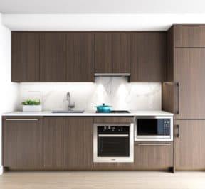 Central Condos - Kitchen - Interior Render
