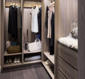 Central Condos - Walk In Closet - Interior Render