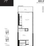 Woodsworth Condos - Model A - Floorplan