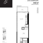 Woodsworth Condos - Model B - Floorplan