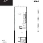 Woodsworth Condos - Model D - Floorplan