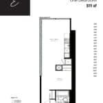 Woodsworth Condos - Model E - Floorplan