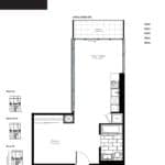 Woodsworth Condos - Model H - Floorplan