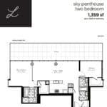 Woodsworth Condos - Model L - Floorplan