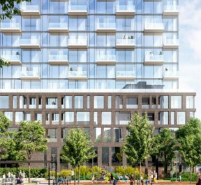 Lifetime Developments sales centre for XO Condos on King St
