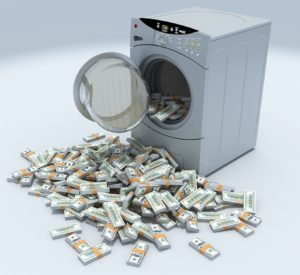 washing machine with cash