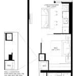 XO Condos - 484 - Floorplan