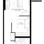 XO Condos - 503 - Floorplan