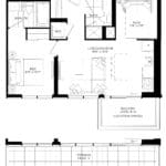 XO Condos - 586 - Floorplan