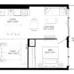 XO Condos - 613 - Floorplan