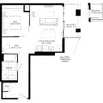 XO Condos - 614 - Floorplan