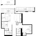 XO Condos - 695 - Floorplan