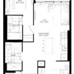 XO Condos - 703 - Floorplan