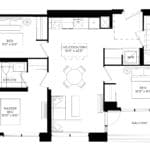 XO Condos - 880 - Floorplan