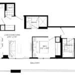 XO Condos - 941 - Floorplan