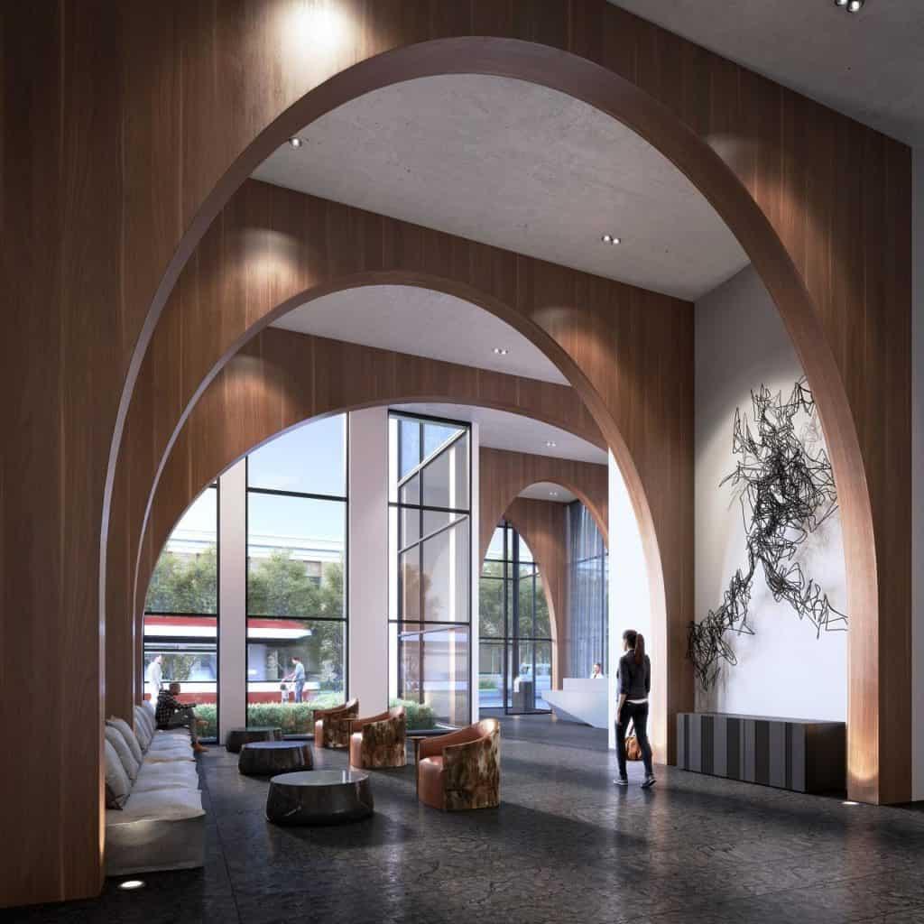 XO Condos - Entrance - Interior Render