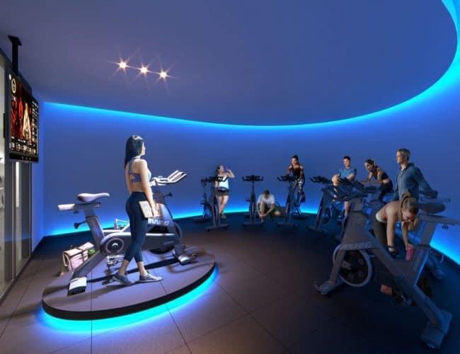 XO Condos - Gym - Interior Render