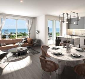 XO Condos - Suite - Interior Render