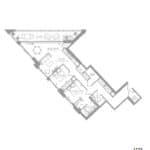 1181 Queen West Condos - 1133 sq.ft - Floorplan