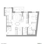1181 Queen West Condos - 1143 Sq.ft. - Floorplan