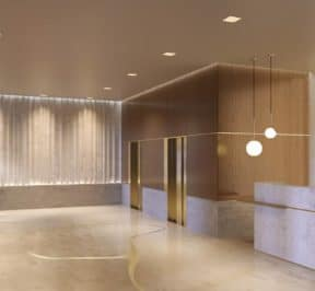 1181 Queen Street West - Entrance - Interior Render