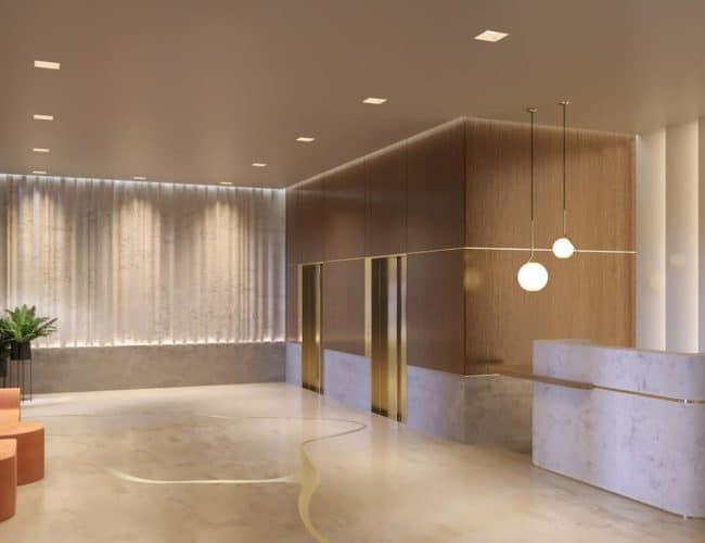 1181 Queen Street West - Entrance - Interior Render