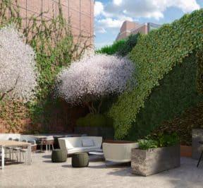1181 Queen Street West - Outdoor Terrace - Exterior Render