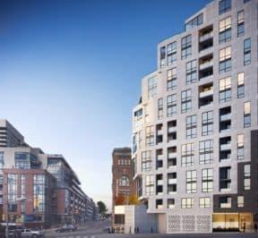 1181 Queen Street West - Street Level View - Exterior Render