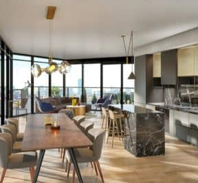 1181 Queen Street West - Suite - Interior Render