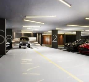 1181 Queen Street West - Underground Parking - Interior Render