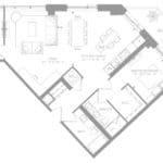 1181 Queen West Condos - Suite 1006 - Floorplan