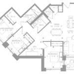 1181 Queen West Condos - Suite 1302 - Floorplan