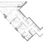 1181 Queen West Condos - Lower Penthouse 1403 - Floorplan