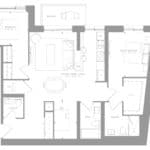 1181 Queen West Condos - Suite 610- Floorplan