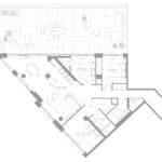 1181 Queen West Condos - Suite 905 - Floorplan