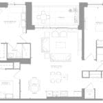 1181 Queen West Condos - Suite 407 - Floorplan