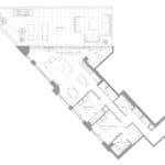 1181 Queen West Condos - Suite 1303 - Floorplan