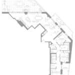 1181 Queen West Condos - Suite 1301 - Floorplan