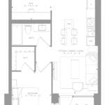 1181 Queen West Condos - Suite 902 - Floorplan