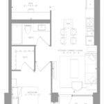 1181 Queen West Condos - Suite 902 - Floorplan