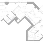 1181 Queen West Condos - Lower Penthouse 1404 - Floorplan