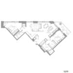 1181 Queen West Condos - 1279 sq.ft - Floorplan