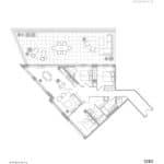 1181 Queen West Condos - 1283 Sq.ft. - Floorplan