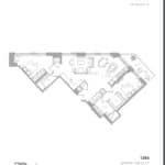 1181 Queen West Condos - 1286 Sq.ft. - Floorplan