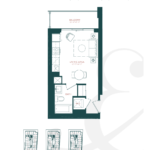 River & Fifth - Berkley (S-A) - Floorplan