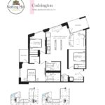 Notting Hill Condos - Codrington - Floorplan