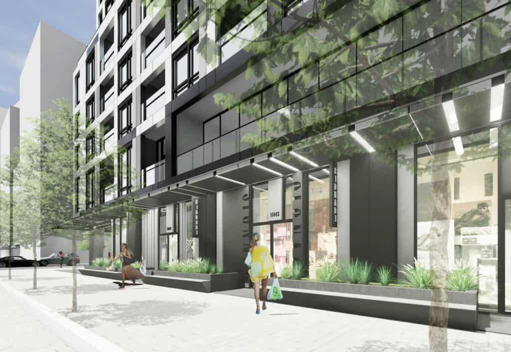 Empire Quay House - Street Level View - Exterior Render